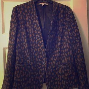 Rachel Roy leopard print blazer